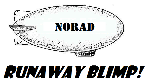 4. A runaway blimp became famous.