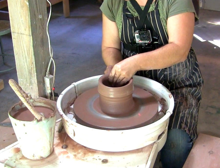 3. Or learn to make ceramics.