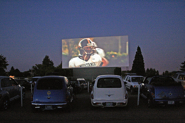 1. See a drive-in movie.