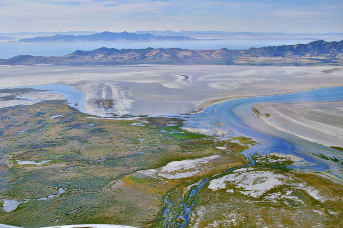 1. The Great Salt Lake is the largest saltwater lake in the Western hemisphere.