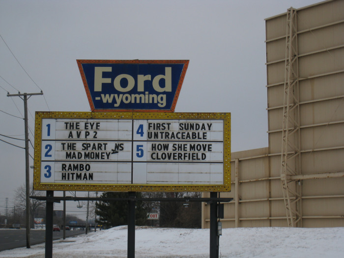 9) Catch a movie at Ford Drive-In in Dearborn.