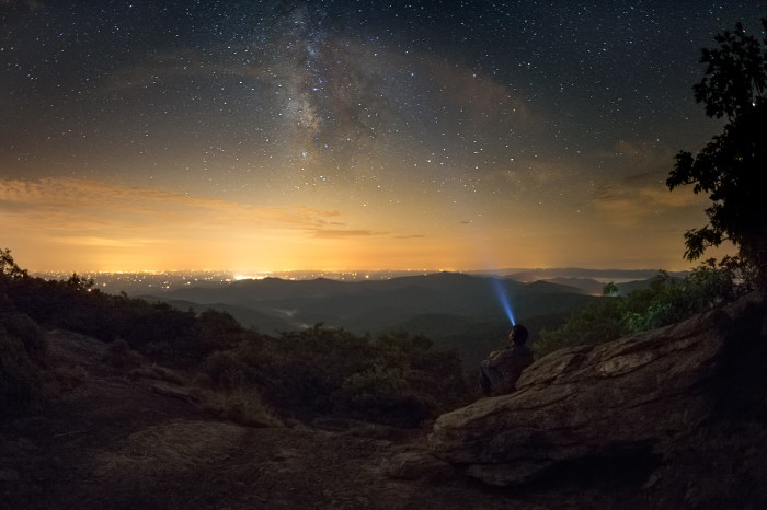 4. The Milky Way on top of Blood Mountain
