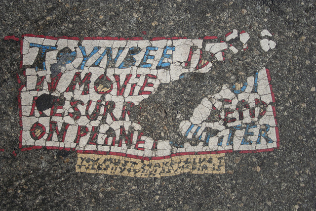 7. Toynbee Tiles, various locations (though mostly Philadelphia)