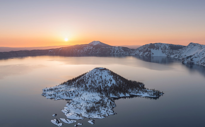 14. You agree that Crater Lake is one of the most beautiful places on the planet.
