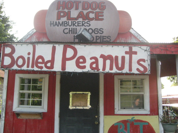 2. You can't imagine not having access to boiled peanuts, fresh seafood, or locally grown fruit and vegetables.