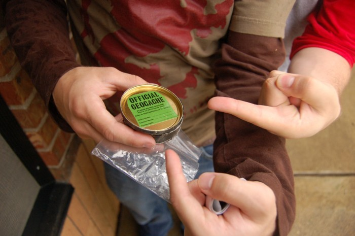 11. Try geocaching in at least 3 parks throughout the state.