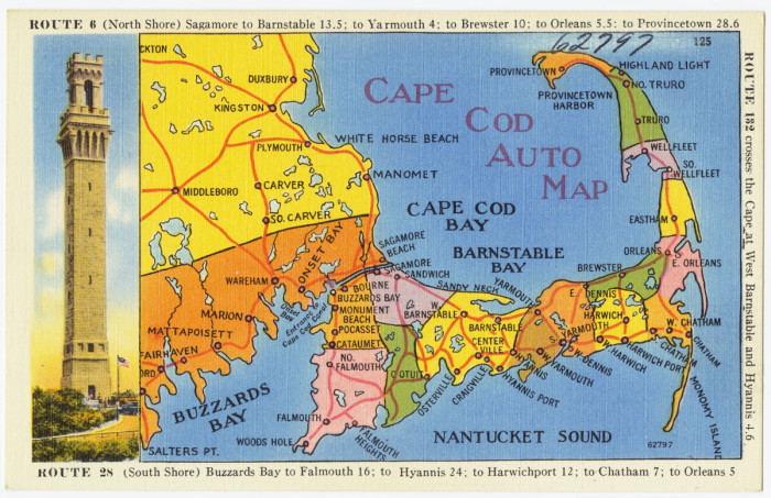 8. We give directions on Cape Cod by pointing to our arms.