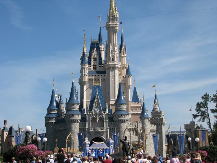 9. A Disney World or Disneyland