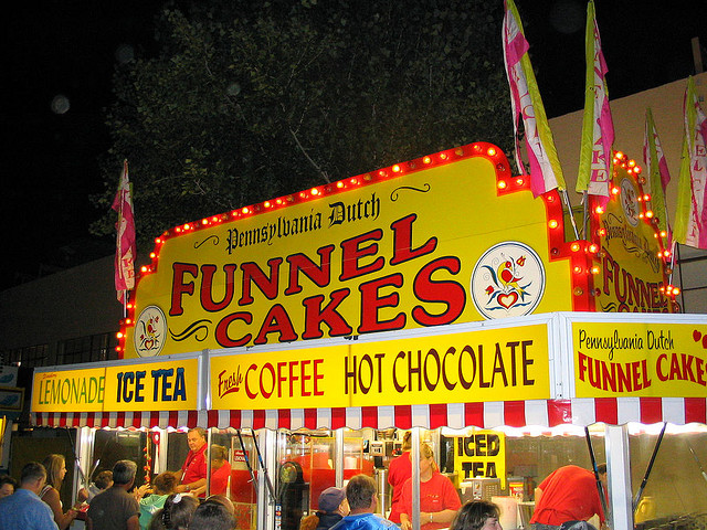 5. Everyone went to fun community events, such as county fairs. Nothing beats that funnel cake.