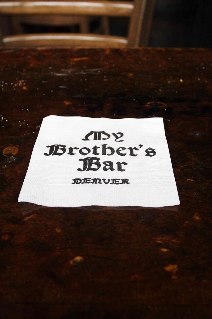 2. Having a beer at the oldest (still) operating bar in Denver.