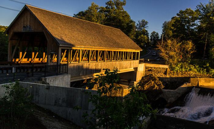 21.  Quechee Covered Bridge