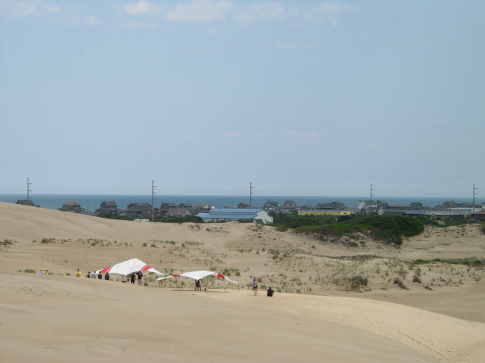 6. Hang glide off Jockey's Ridge.