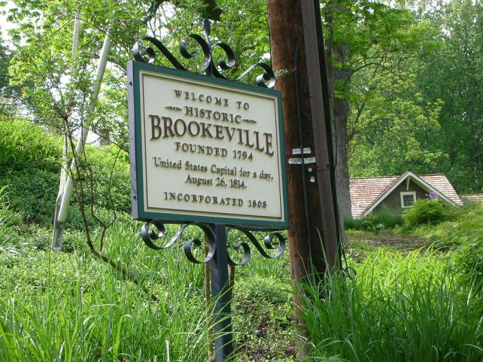 2) Brookeville