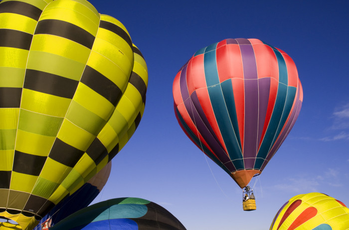 18. September: Watch hot air balloons in Park City.