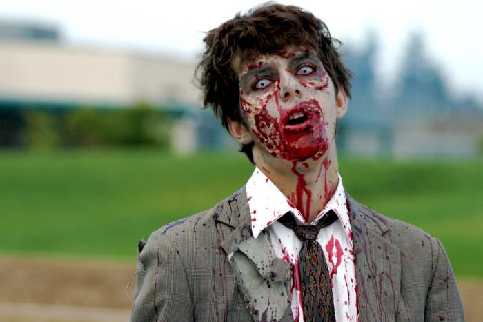 8. Some type of freak virus or gene mutation AKA a zombie apocalypse.
