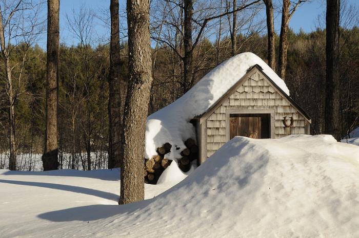 22.  Snowdrifts