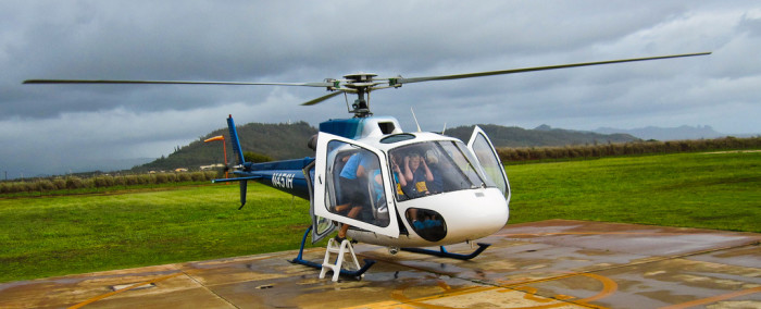 26) Take a helicopter tour of the islands.