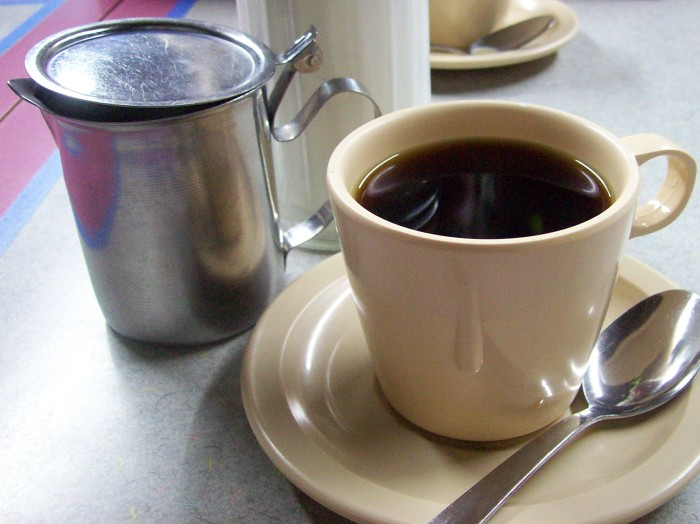 10. Start your morning off right with a delicious cup of coffee...