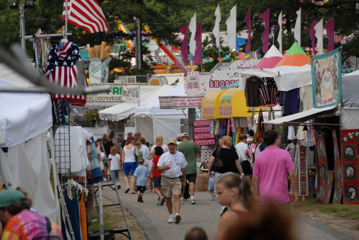 5. Spend the day at the Barnstable County Fair.