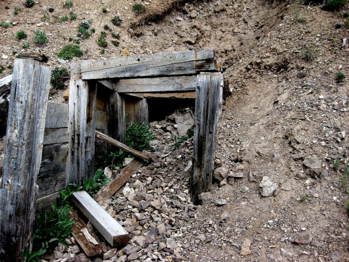 5. Good luck digging your way through this mine shaft.