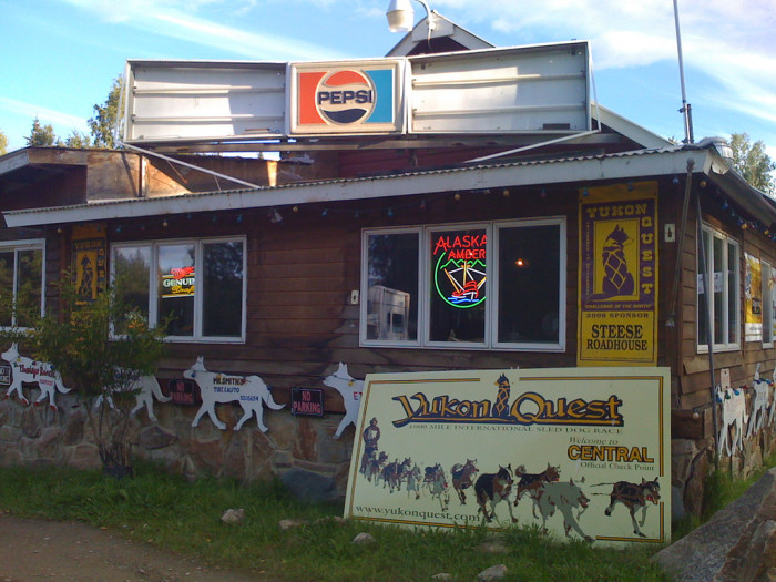 3) The Steese Roadhouse, Central Alaska