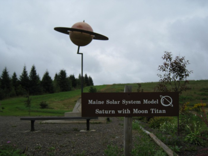 9. The Maine Solar System Model, Aroostook County