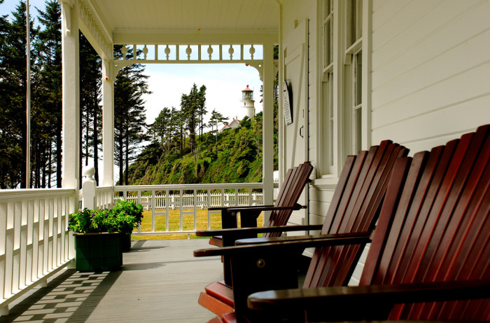 3. To make a weekend of it, stay the night at one of Oregon's amazing coastal B&Bs.