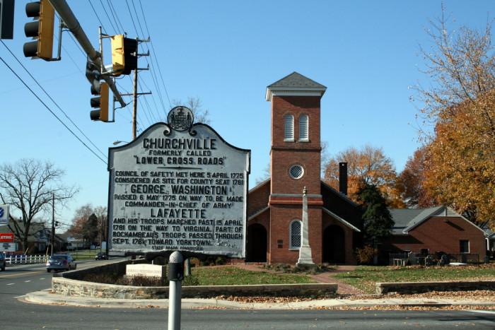 6) Churchville
