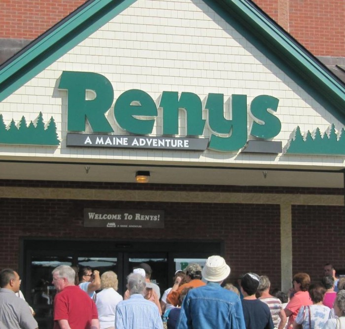 12. A sale at Reny's!
