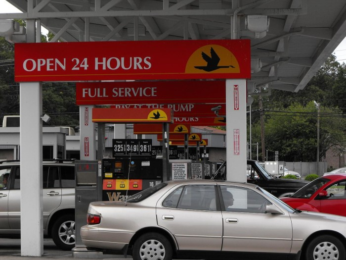 14. What's the best way to pump gas?