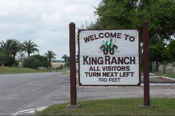 11) King Ranch in South Texas is larger than Rhode Island.