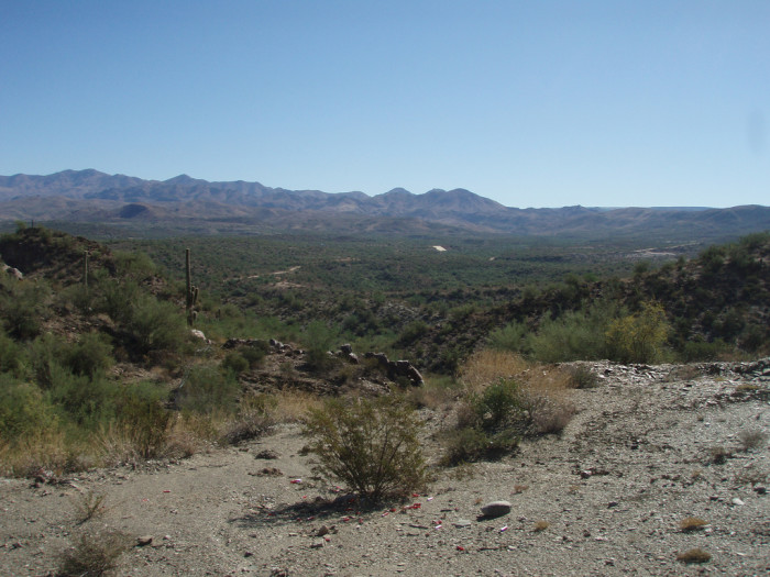7. The loot from stagecoach robberies is hidden near the ghost town Gillette.