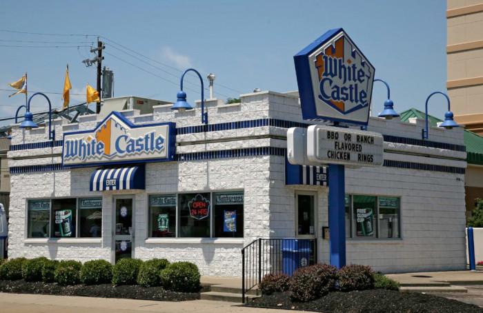 5. A White Castle...