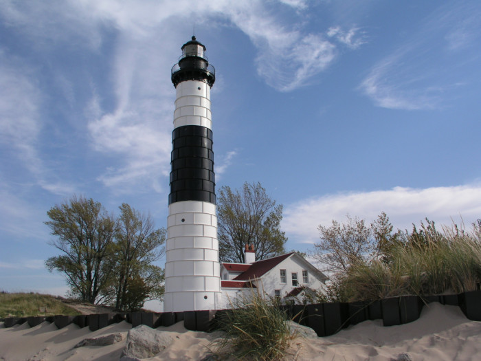 13) Visit Michigan's many historic lighthouses.