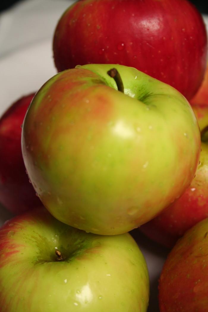 9) Apples.