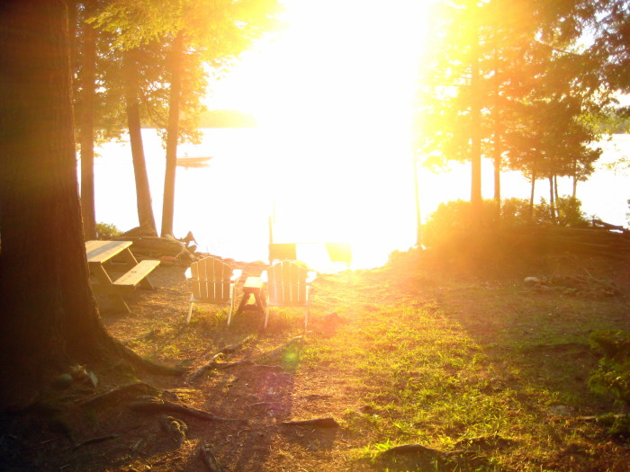 4. A Blazing Sunset, Lee