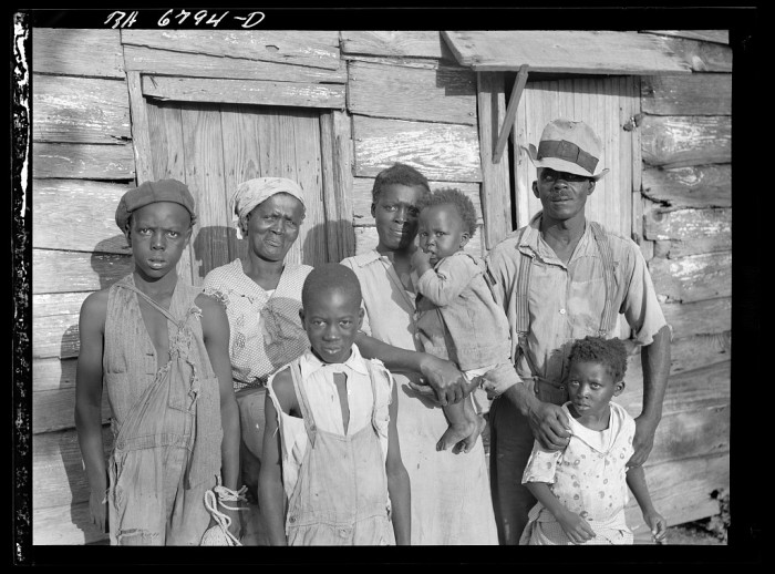 3. Everyone here has a smile - in spite of the hard times. Lady's Island near Beaufort, SC.  1936.
