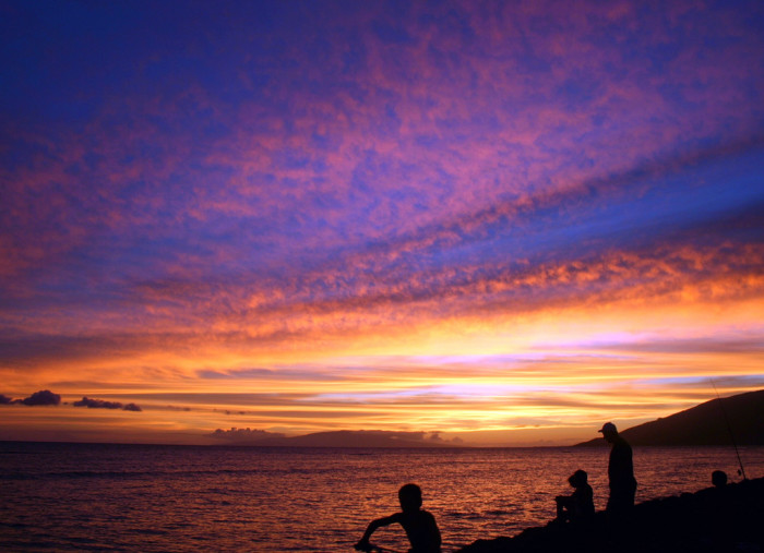 3) There is nothing quite like watching a vibrant Hawaiian sunset with a loved one.