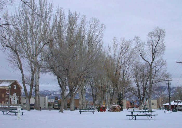 2. The town of Ely has such a great hometown feel in this snow scene, which was captured in December 2006.