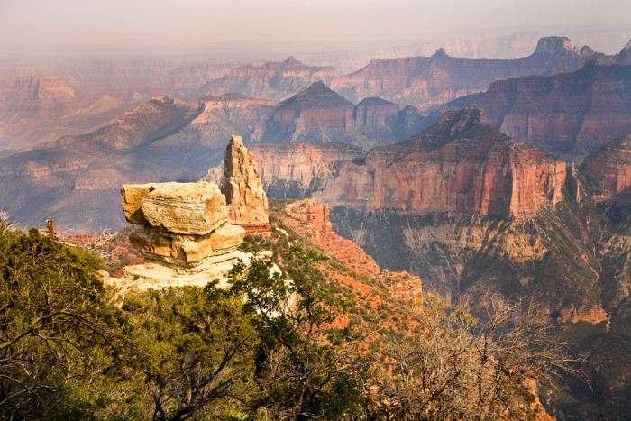 3. Visit the North Rim of the Grand Canyon