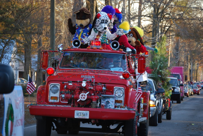 8. Our Christmas parades are the BEST, whether they're on the streets...
