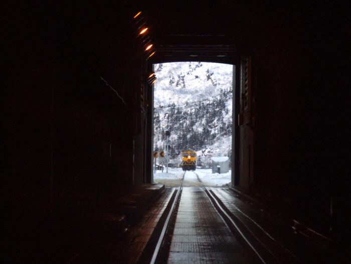 4) Anton Anderson Memorial Tunnel