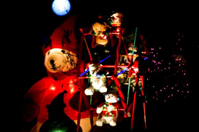 16. Christmas Ferris wheel!