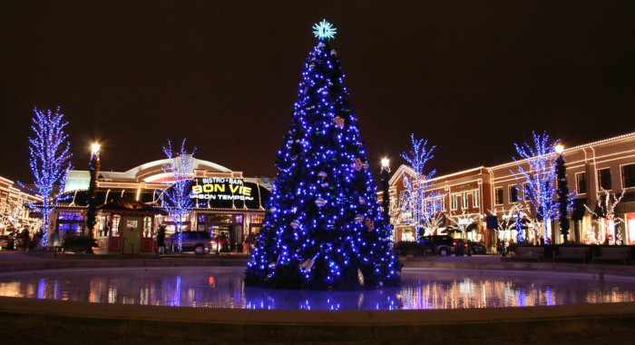 3. Our shopping centers look like this:
