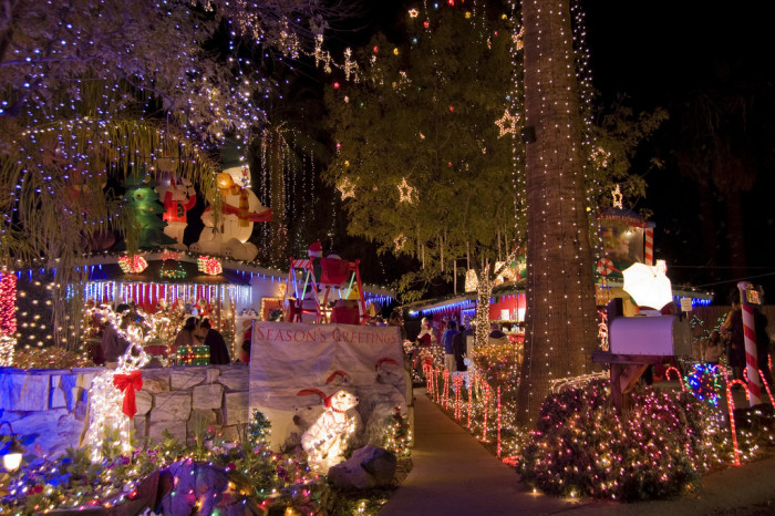 12. Our towns—large and small—really get into the decorations, music, and festivities, which helps the season to feel like Christmas no matter the weather outside.