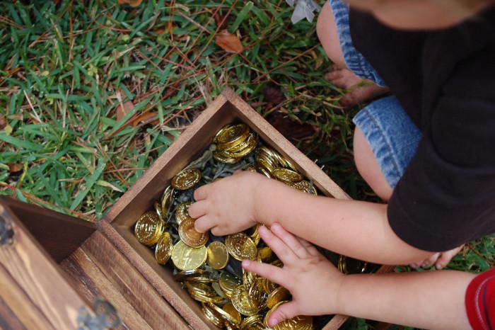 4. We have real lost treasure.