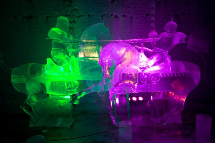 1) Aurora Ice Museum