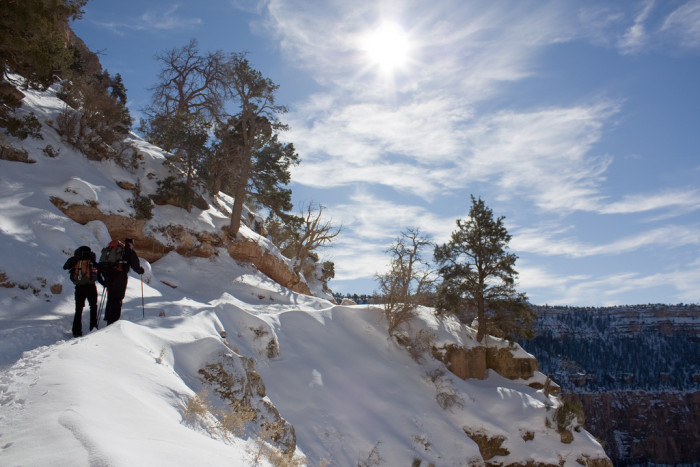 7. You could hike it as well but I would suggest ensuring you have some winter hiking experience under your belt before you attempt it.