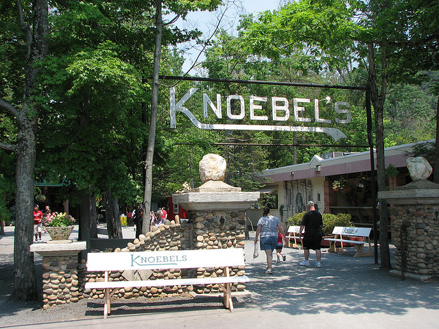 12. Ride some roller coasters at Knoebels.