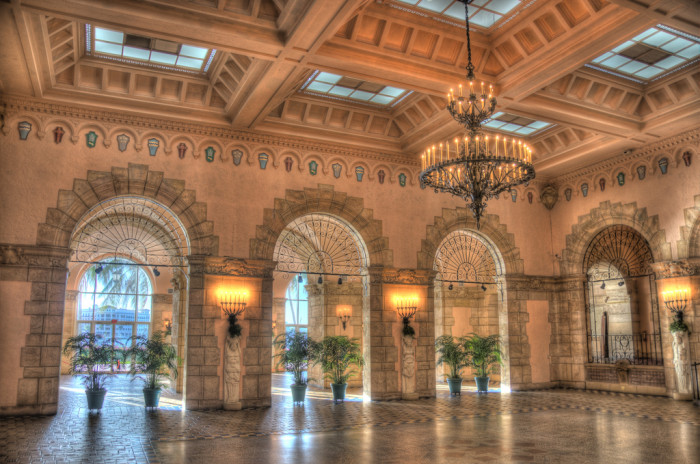 17. And this scene from Whitehall  (Flagler Museum) in Palm Beach looks like the perfect setting for Cinderella's ball.